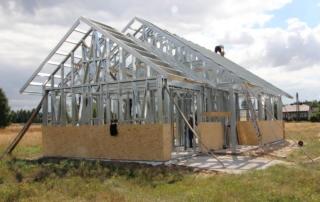 Gracus Broker budowy domów - Szkielet stalowy