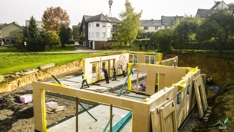 Gracus - Broker budowy domów - Szkielet drewniany